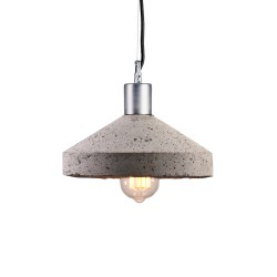 Lampa Betonowa Rocket grey