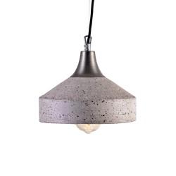 Lampa Betonowa Vulcano grey