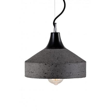 Lampa Betonowa Vulcano dark grey