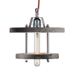 Lampa Betonowa Levels 2CB dark grey