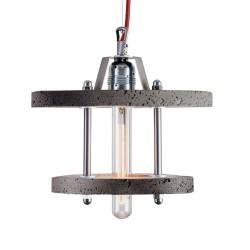 Lampa Betonowa Levels 2CB dark grey